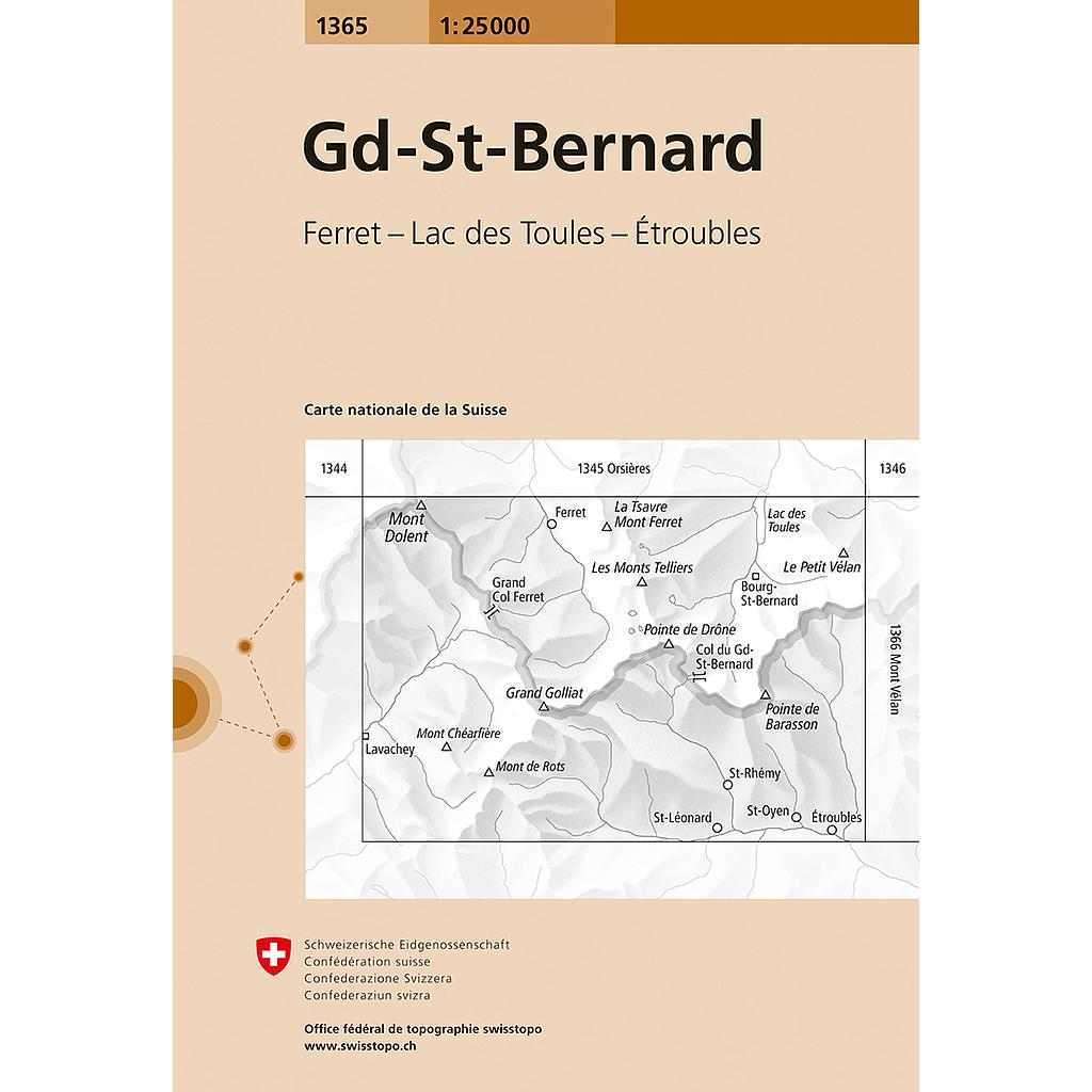 Grand St.Bernard 1365 - 1/25