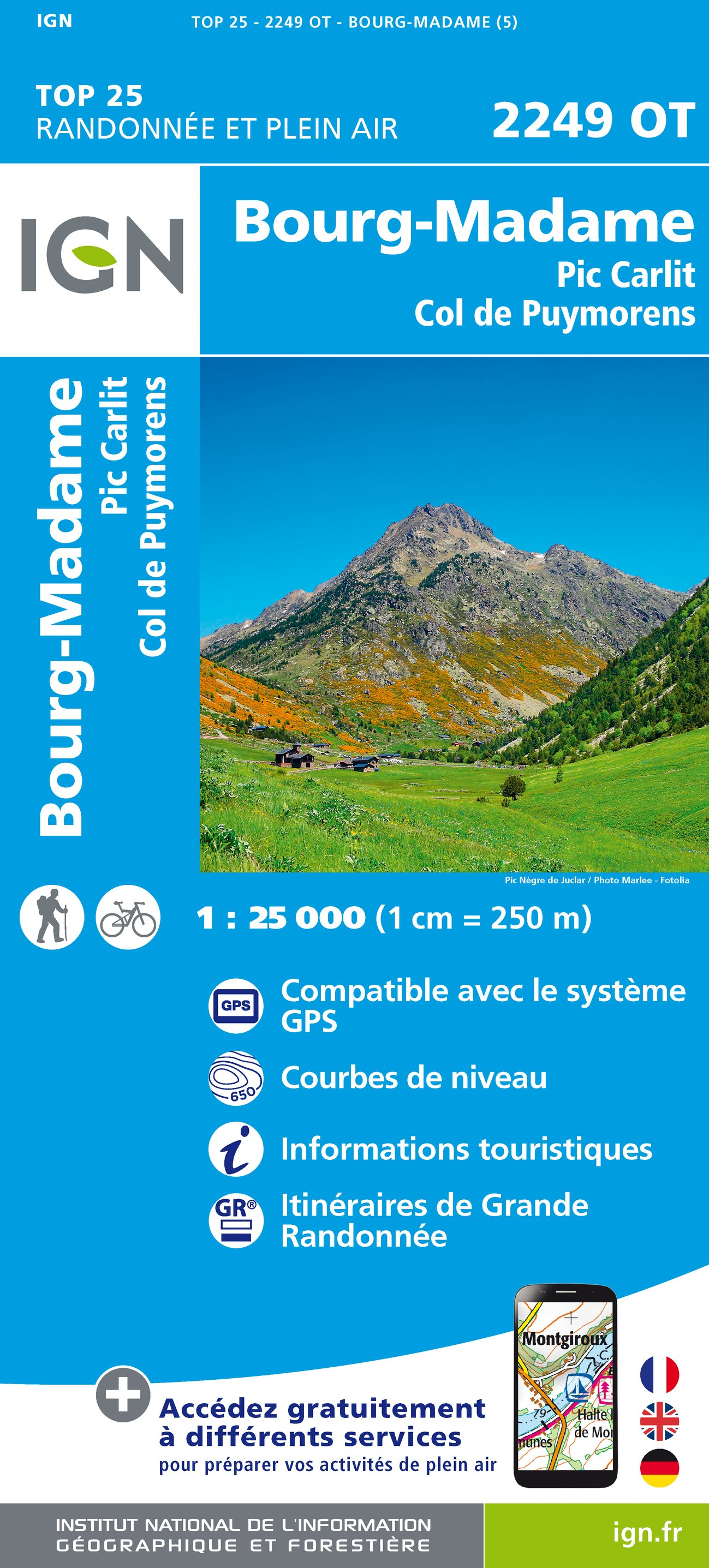 Bourg Madame / Pic Carlit / Col Puymorens - 1/25