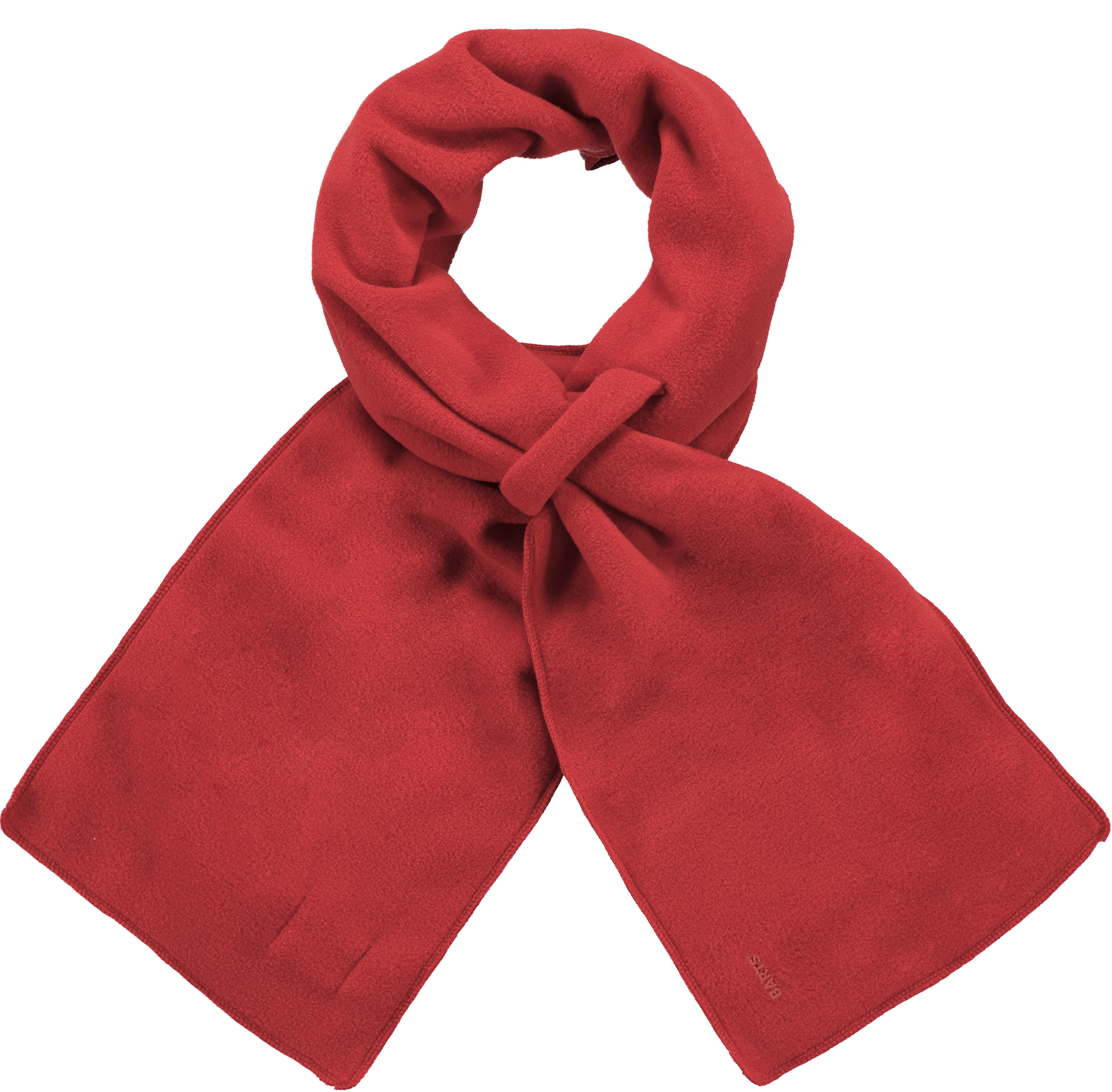 K's Fleece Shawl - Red